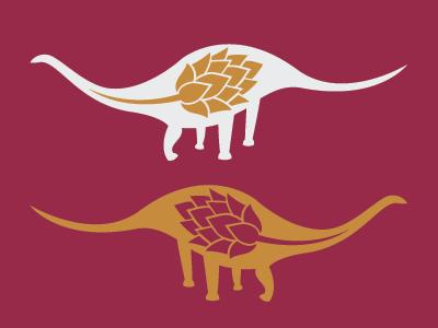 Abrevadero de Dinosaurios hopleaf dino beerbranding beer dinosaur