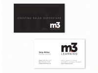 M3 business card