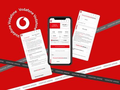 Vodafone adaptive vodafone web ux ui design