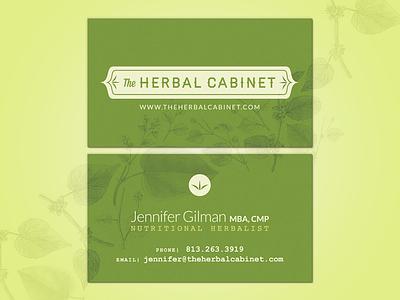 Herbal, Earthy Branding branding business cards logo identity leaves leaf earthy herb herbal organic full bleed logo mark