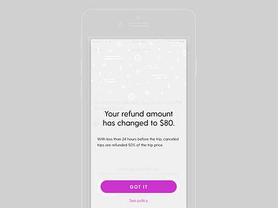 Friendly dialog app purple prompt ios dialog ui