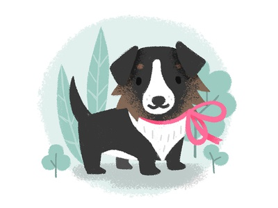 Nala happy love baby dog puppy cute photoshop illustration