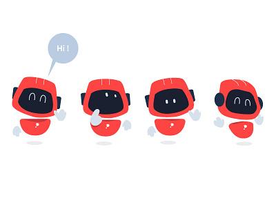 Goodlio robots robotics robot characterdesign tech mobile technology branding design character illustrator illustration vector adobe illustrator