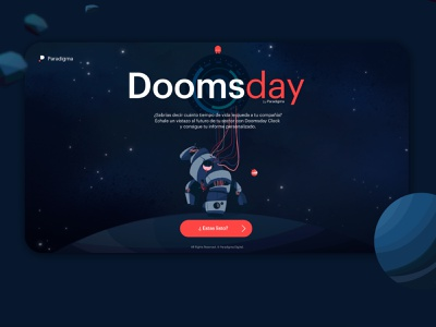Doomsday space robotics robot app ui characterdesign tech technology branding design character illustrator illustration adobe illustrator