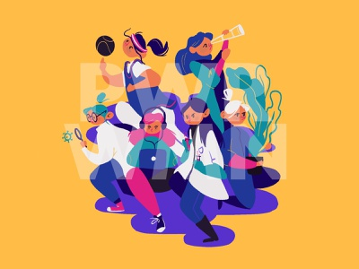 International Women's Day illustration procreate internationalwomensday powerful womans character