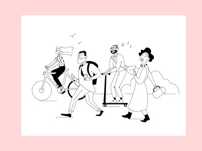 Have a nice day! branding design character illustrator illustration adobe illustrator