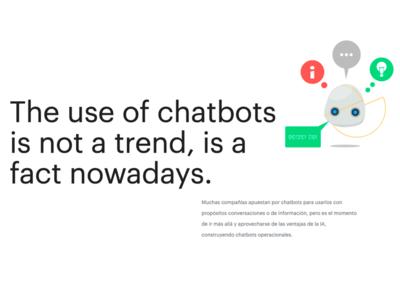 Chatbot - Goodly chatbot ui branding design vector character illustrator illustration adobe illustrator