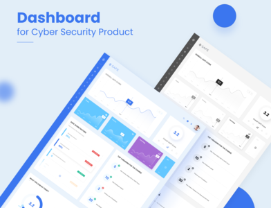 Dashboard - cyber security product ux design design product design web application design interactive design color interaction design dahsboard ui  ux ui design