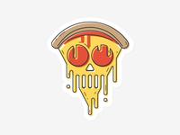 Skull-eroni Pizza