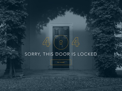 Door Locked 404