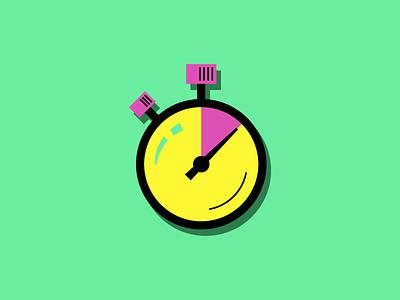 Stopwatch logo icon time clock stopwatch aarp