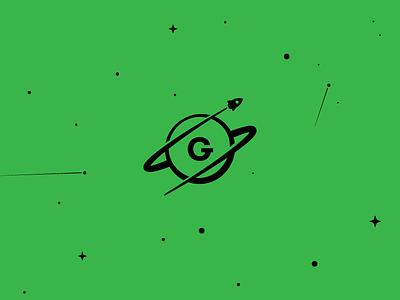 StratusGrid starts rocket scifi space logo