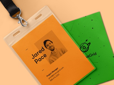 StratusGrid ID Badge space nametag tag name badge id