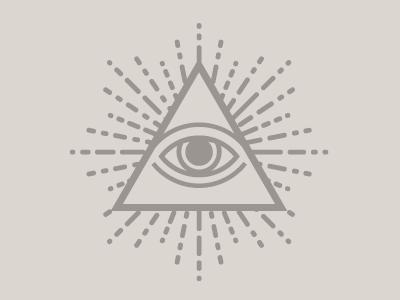 All Seeing Eye logo illustration eye dollar money currency occult masons egyptians