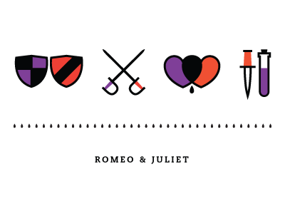 romeo juliet by kyle tezak dribbble