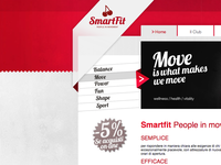Smartfit - rotate menu