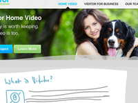 Video Website Home Page