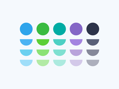 OSIG - Color palette pallete colors guidelines guideline guidebook branding brand identity animation