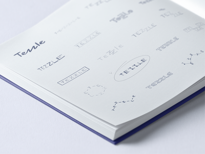 Tezzle - Logo sketches sketches guideline logotype guidelines logo branding animation brand identity