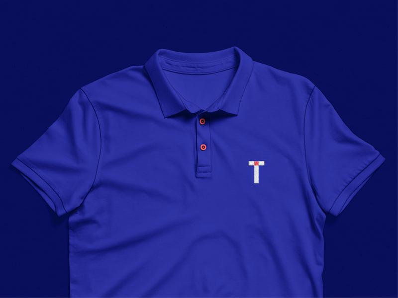 Tezzle - Polo tshirt polo logodesign flat logotype logo guidelines branding brand identity