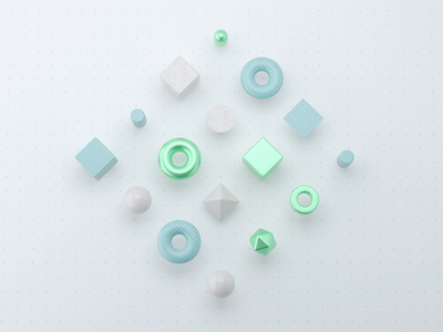 Animation of objects. art motion mograph c4d 3d animation illustration brand identity branding