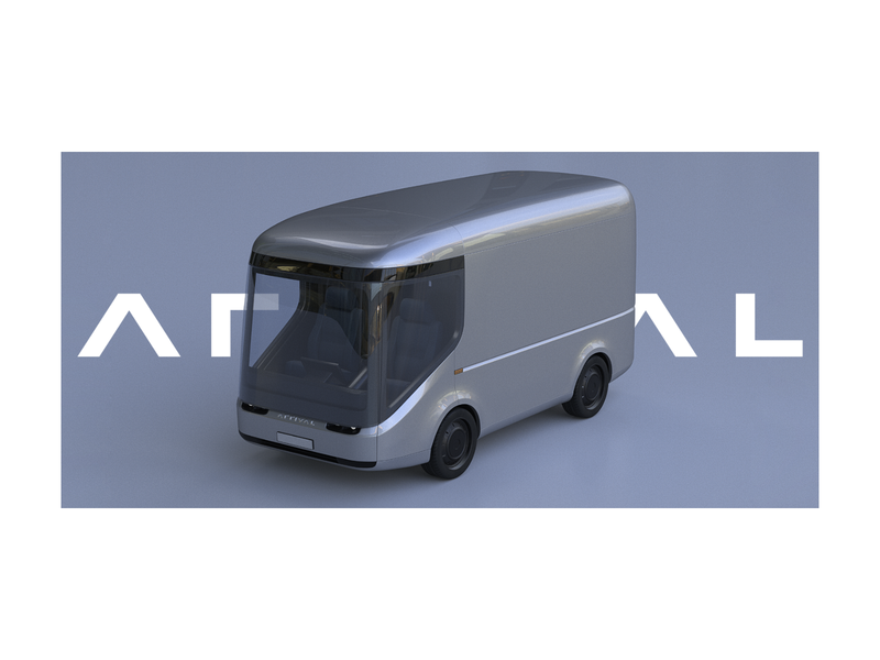 Electric Vehicle Arrival cinema4d c4d render model 3d