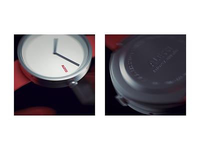 Alessi watch watch model 3dmodel cinema4d c4d