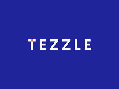 Tezzle — Logo Animation flat typography logotype branding brand identity animation logo animation logo