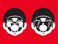 Nerd Mario / 80s Cool Mario