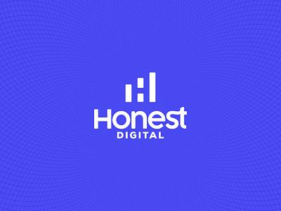 Honest Digital, Logo visual identity marketing branding logo