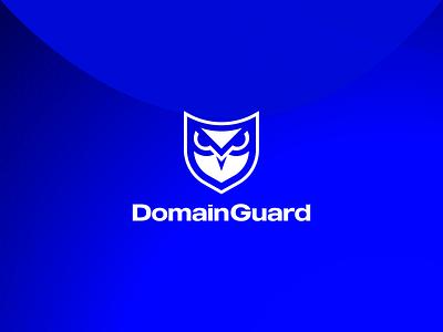 DomainGuard, Logo security cyber domain shield owl guard