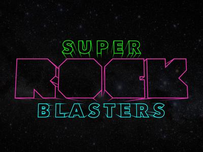 Super Rock Blasters Logo