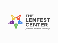 Lenfest Center Logo Design