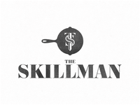 Restaurant Logo Monogram for The Skillman out of NYC