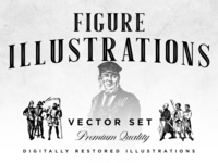 Free Download - Figure Illustrations Vector Set