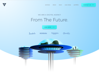 Homepage From the Future