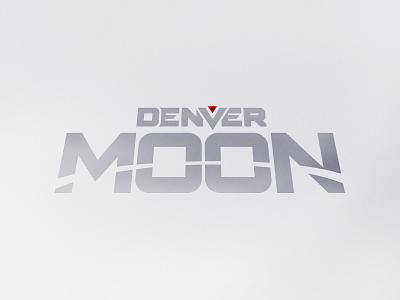 Denver Moon Logo for Hex Publishers visual identity branding logo scifi comic book comic hex publishers