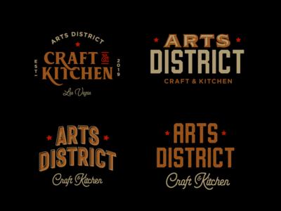 Arts District Type Lockups