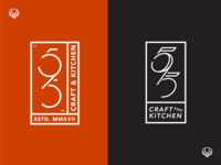 595 Craft & Kitchen Monogram Logos