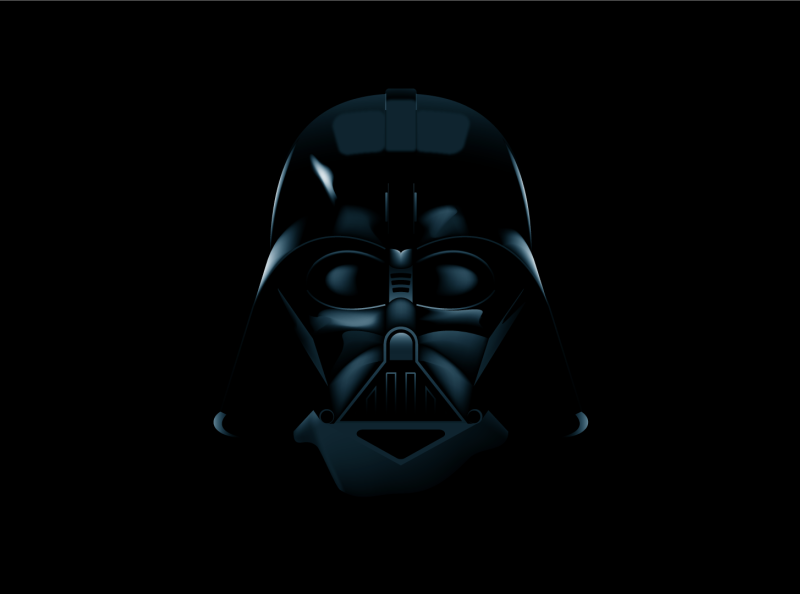 Darth Vader Adobe Illustrator Tutorial Vid And Free Wallpapers By