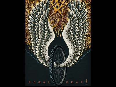 Pedal Craft Poster