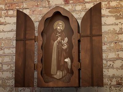 St. Francis altar