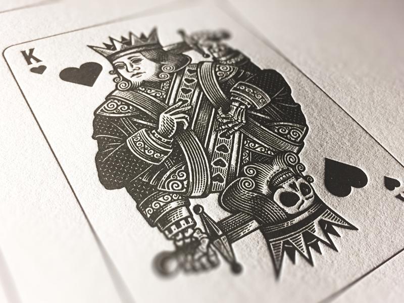 Letterpress detail