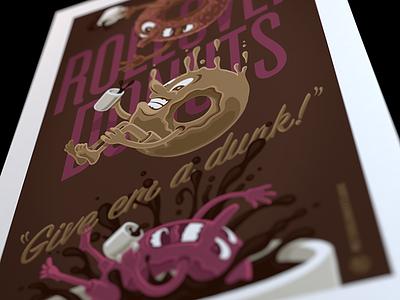 coming soon donuts coffee dunkem posterfun