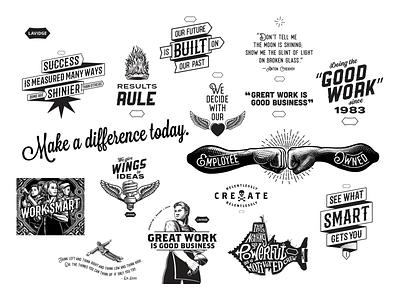 LAVIDGE art direction design illustration branding