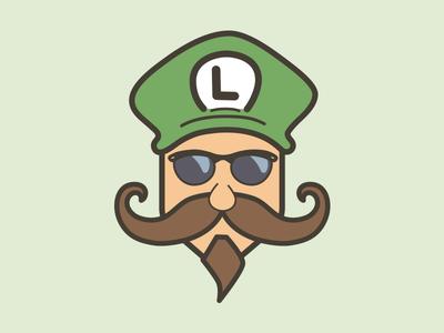 Mustache Luigi