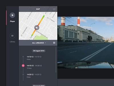 Dashcam player player dvr desktop dashcam