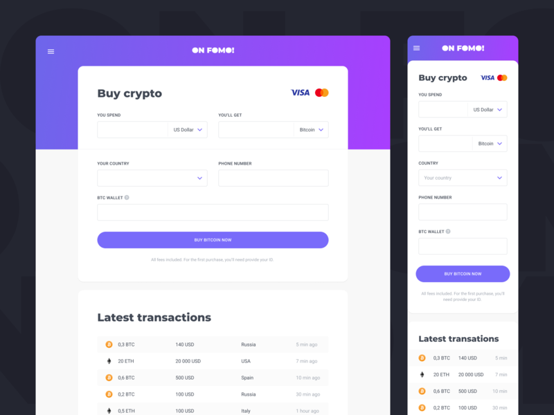 ON FOMO! steps wizard eth btc form exchange ethereum crypto bitcoin