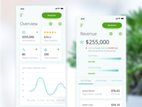Merchant Center iOS App Concept