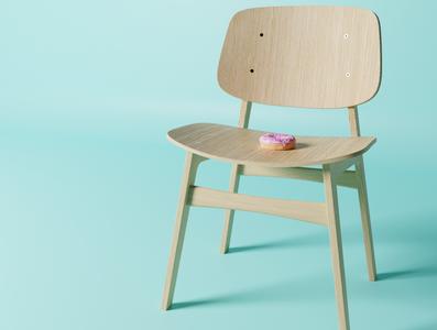 Blender 3D is Awesome chair donut 3d art blender3d